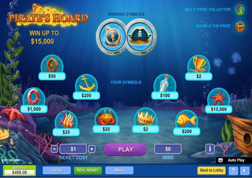 jeu de grattage en ligne